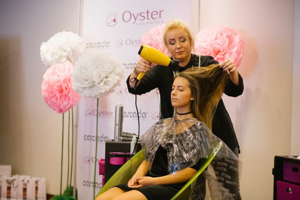 Cascada grožio mokykla - Oyster Cosmetics naujienų seminaras